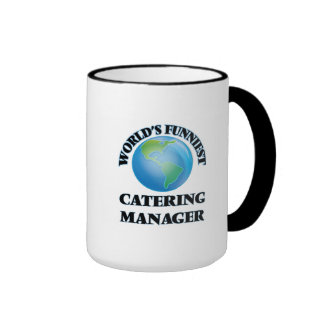 World's Funniest Catering Manager Coffee Mug