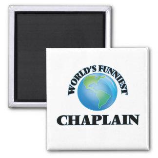 World's Funniest Chaplain Refrigerator Magnet
