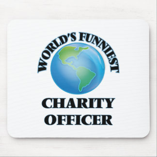 World's Funniest Charity Officer Mouse Pad