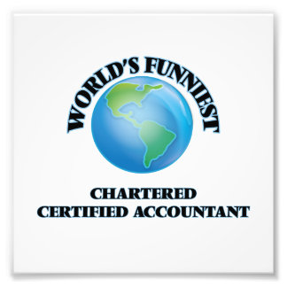 World's Funniest Chartered Certified Accountant Photograph