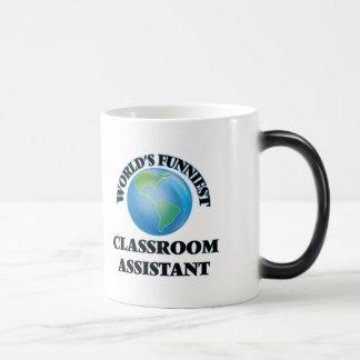 World's Funniest Classroom Assistant Mugs