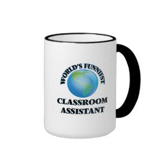 World's Funniest Classroom Assistant Coffee Mug