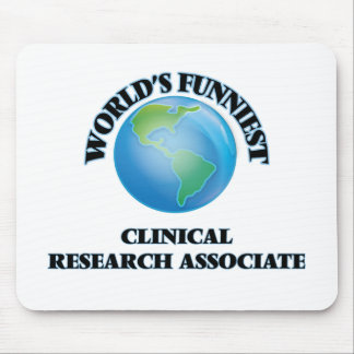 World's Funniest Clinical Research Associate Mouse Pads