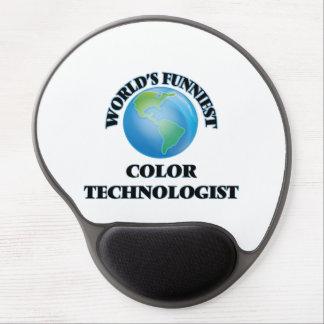 World's Funniest Color Technologist Gel Mousepads