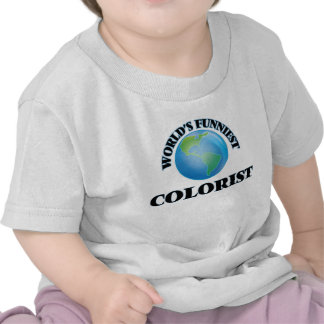 World's Funniest Colorist Tee Shirts