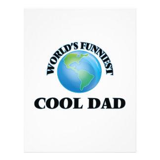 World's Funniest Cool Dad 21.5 Cm X 28 Cm Flyer