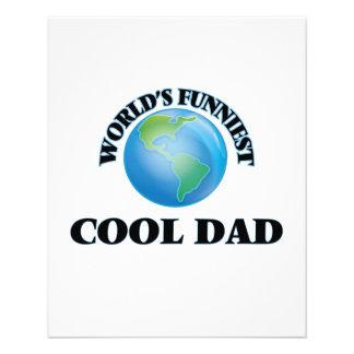 World's Funniest Cool Dad 11.5 Cm X 14 Cm Flyer