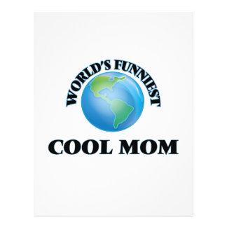 World's Funniest Cool Mom 21.5 Cm X 28 Cm Flyer