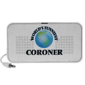 World's Funniest Coroner Notebook Speakers
