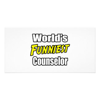 World's Funniest Counselor Photo Card