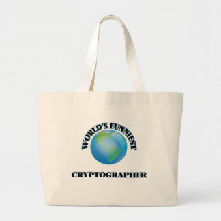 World's Funniest Cryptographer Tote Bag