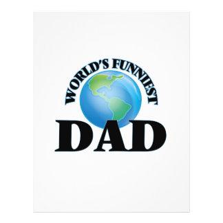 World's Funniest Dad 21.5 Cm X 28 Cm Flyer