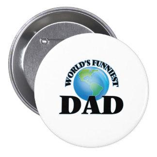 World's Funniest Dad 7.5 Cm Round Badge