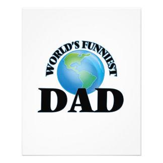 World's Funniest Dad 11.5 Cm X 14 Cm Flyer