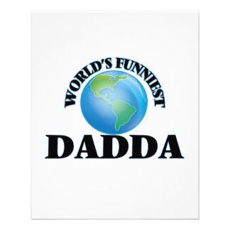 World's Funniest Dadda 11.5 Cm X 14 Cm Flyer