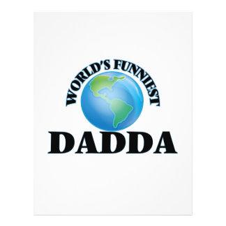 World's Funniest Dadda 21.5 Cm X 28 Cm Flyer