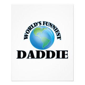 World's Funniest Daddie 11.5 Cm X 14 Cm Flyer