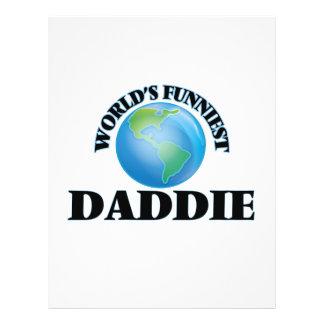 World's Funniest Daddie 21.5 Cm X 28 Cm Flyer