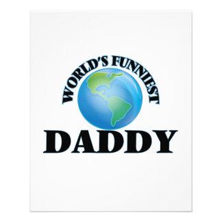 World's Funniest Daddy 11.5 Cm X 14 Cm Flyer