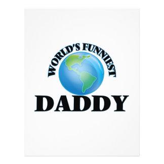 World's Funniest Daddy 21.5 Cm X 28 Cm Flyer