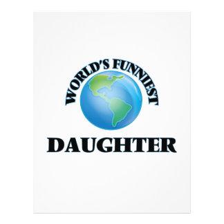 World's Funniest Daughter 21.5 Cm X 28 Cm Flyer