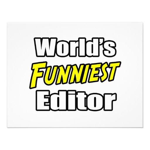 World's Funniest Editor Custom Announcements