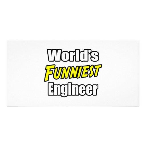 World's Funniest Engineer Photo Card