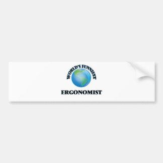 World's Funniest Ergonomist Bumper Stickers