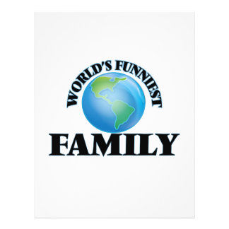 World's Funniest Family 21.5 Cm X 28 Cm Flyer