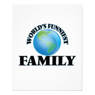 World's Funniest Family 11.5 Cm X 14 Cm Flyer