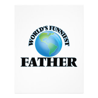 World's Funniest Father 21.5 Cm X 28 Cm Flyer