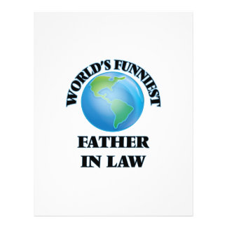 World's Funniest Father-in-Law 21.5 Cm X 28 Cm Flyer