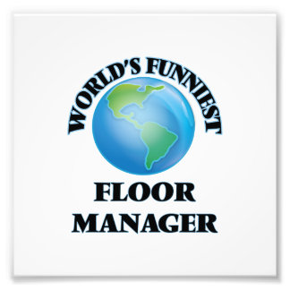 World's Funniest Floor Manager Photo