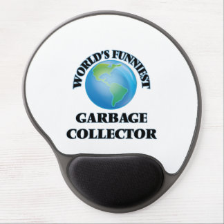 World's Funniest Garbage Collector Gel Mouse Mats