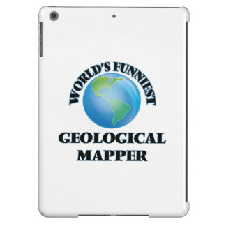 World's Funniest Geological Mapper Cover For iPad Air