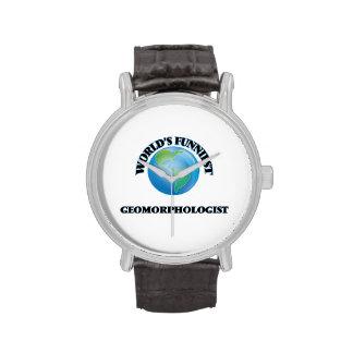 World's Funniest Geomorphologist Wristwatch