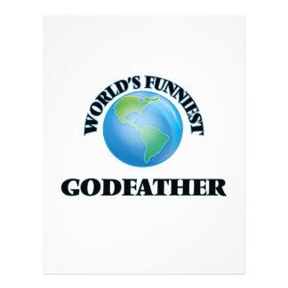 World's Funniest Godfather 21.5 Cm X 28 Cm Flyer
