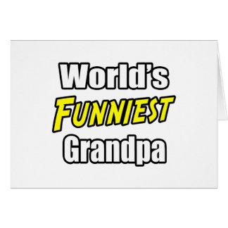World's Funniest Grandpa Greeting Cards