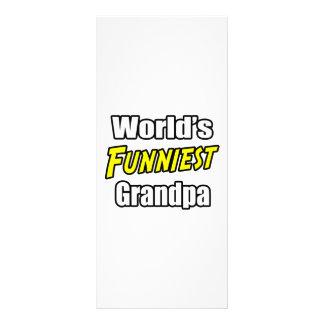 World's Funniest Grandpa Custom Rack Card