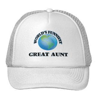 World's Funniest Great Aunt Cap