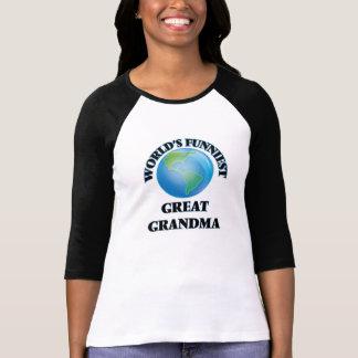 World's Funniest Great Grandma T-shirts
