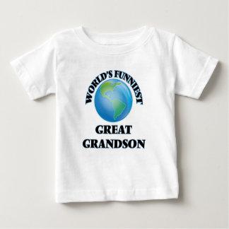World's Funniest Great Grandson Infant T-Shirt