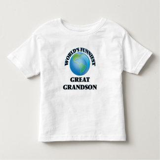 World's Funniest Great Grandson Shirt
