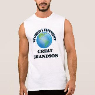 World's Funniest Great Grandson Sleeveless T-shirts