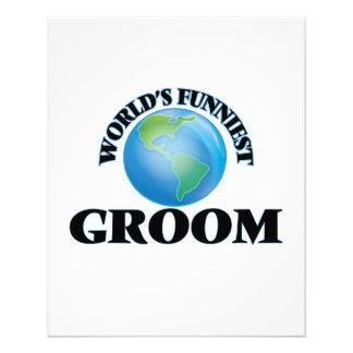 World's Funniest Groom 11.5 Cm X 14 Cm Flyer