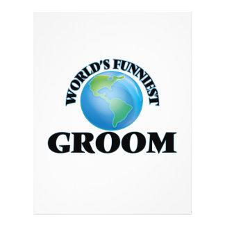 World's Funniest Groom 21.5 Cm X 28 Cm Flyer