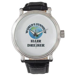 World's Funniest Hair Dresser Wristwatches