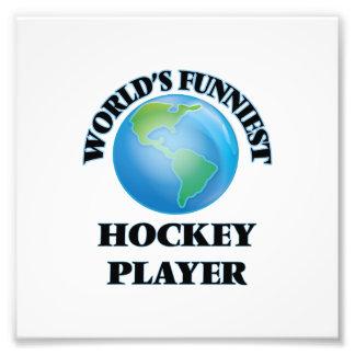 World's Funniest Hockey Player Photo Print