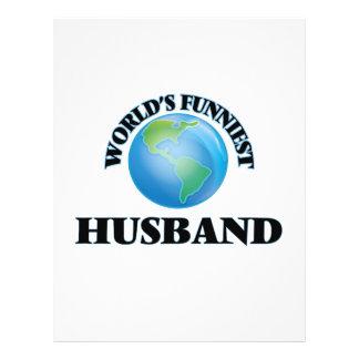 World's Funniest Husband 21.5 Cm X 28 Cm Flyer