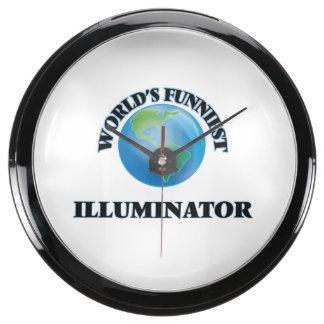 World's Funniest Illuminator Aquarium Clock